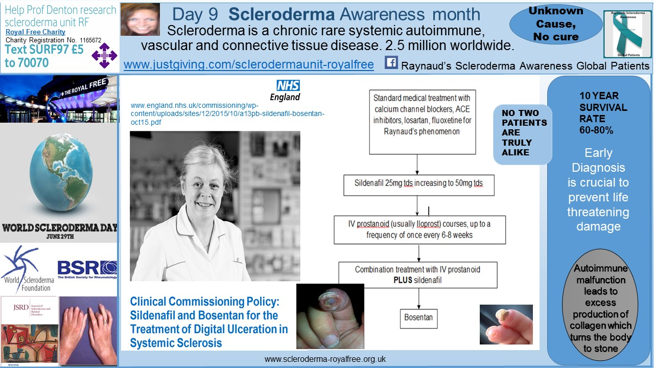 Day 9 Scleroderma Awareness month