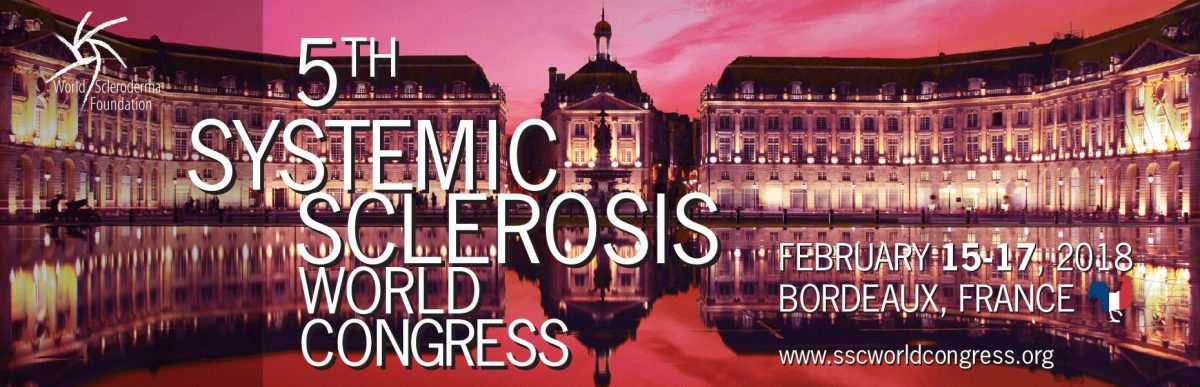 Registration Open for 2018 Systemic Sclerosis World Congress in France